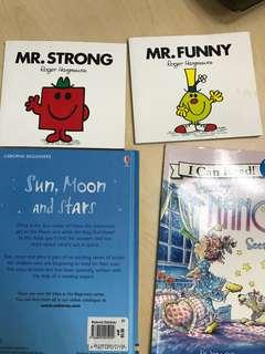 Children's booksx4