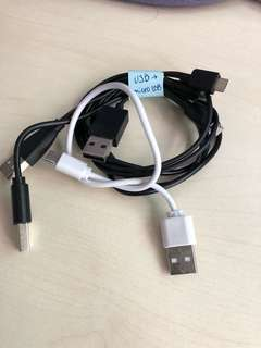 USB to Micro-USB cables