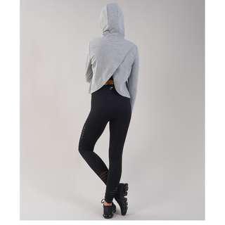 [現貨 XS]GYMSHARK 女款運動棉質帽T CROSS BACK HOODIE。全新。僅試穿