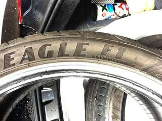 Goodyear F1A2 225/40/18 車呔 車胎 Eagle Asymmetric 2