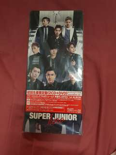 Super Junior 1st Japan Album Hero 2CD+DVD (ELF Japan ver.)