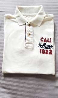 Hollister polo shirt (S碼) 二手