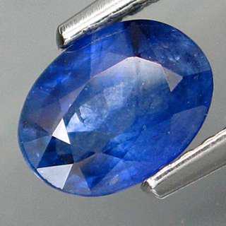 Sri Lanka sapphire 1.2 ct intense blue, no treatments simply heated
