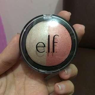 Baked blush & highlighter Elf (TURUN HARGA LGI BU)