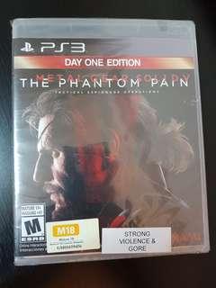 PS3 Metal Gear Solid V The Phantom Pain