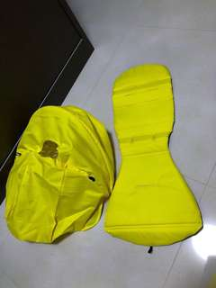 BN STROLLER cushion / canopy