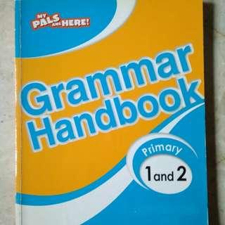 Primary 1 and 2 English Grammar handbook