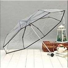 Payung Lipat Transparat