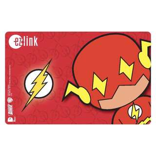 Ezlink MRT Card - The Flash (Limited Edition)