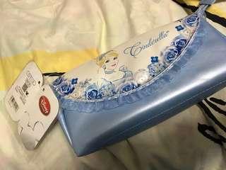 Japan Disney store cinderella pencil case 日本迪士尼店灰姑娘筆袋