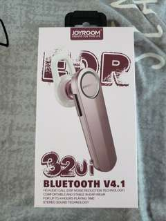 Joyroom bluetooth headset pink color