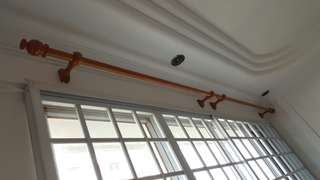 BN Wooden Curtain Rod