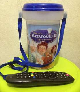 Disney the Ratatouille popcorn bucket