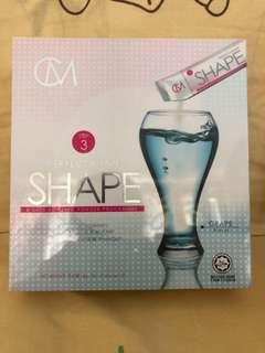 CM LESS Step 3 - SHAPE - 燃脂排油 (5boxes)