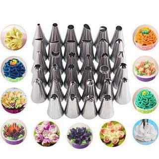 🚚 35 piece nozzles
