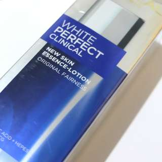 NEW L'Oréal Paris White Perfect Clinical Essence Lotion