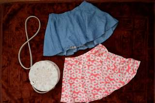 Cute Skirts for Girls (bundled)