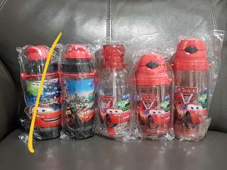 1for$12. 2for$20. Cars McQueen Assorted Water Bottle