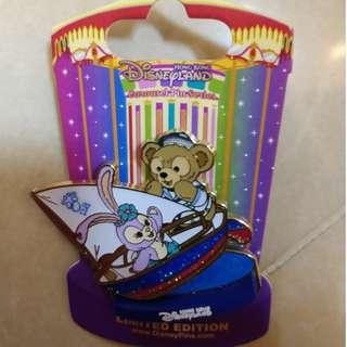 迪士尼 Duffy 與 StellaLou 限量版徽章 Disney pin