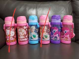 1for$12. 2for$20. My Little Pony Tsum Tsum Frozen Hello Kitty Water Bottle for kid
