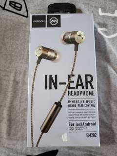 EM202 immersive music in ear head phone by joyroom