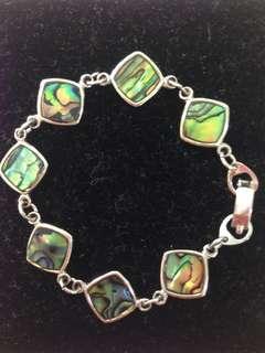 Silver Sea Shell Bracelet