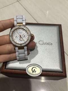 Alexandre Christie Watch in White
