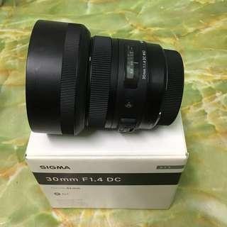 Sigma Art 30mm F1.4 (Canon)