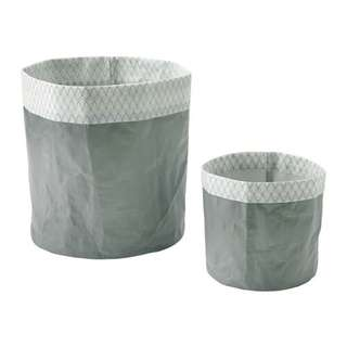 KOLOKVINT Plant Pot, set of 2