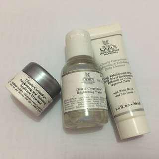 Kiehl's Clearly Corrective Travel Kit 3 in 1
