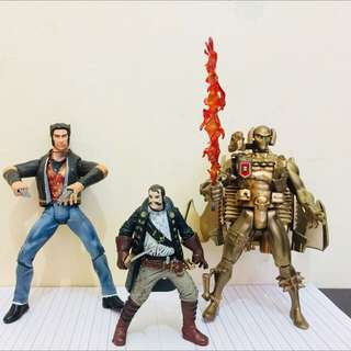 Action figures 400 each