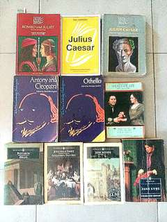 Literature Shakespeare Drama Books