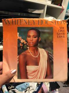 Vintage Whitney Houston Record