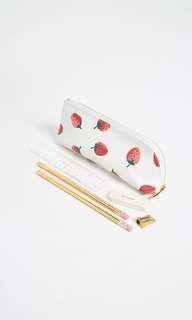 Kate spade pencil case set