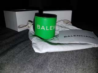 Balenciaga Snap Bracelet in Green