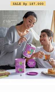 Tupperware Tea Time Canister