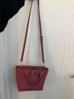 Micheal Kors authentic pink bag