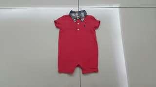 Ralph Lauren Baby Romper (6months)