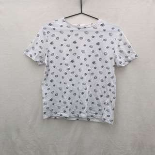 Pull and Bear Printed Top