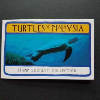 Malaysia 1995 Turtles Of Malaysia Booklet Mnh