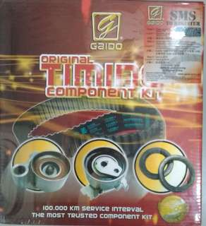 Gaido Timing Belt Set for Chery Eastar 2.0