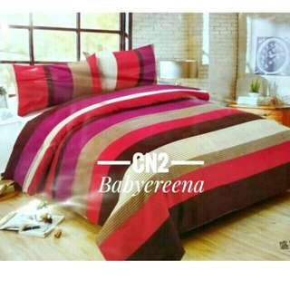 🔊FREE POSTAGE ❗❗💥7 IN 1 BEDSHEET FITTED W COMFORTER