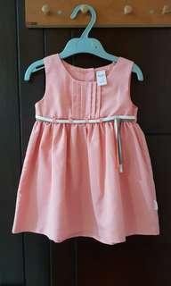 Dress cantik ukuran 18 bulan
