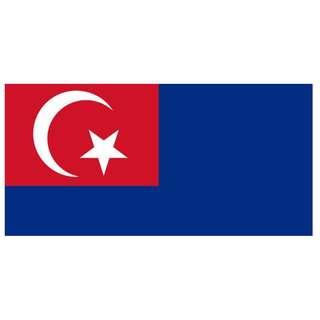 Bendera Johor : 3'x6'