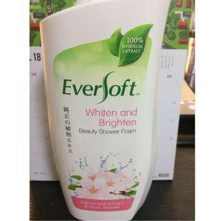 🚚 Eversoft Sakura Leaf & Pearl Beauty Shower Foam | Whiten and Brighten | 800ml