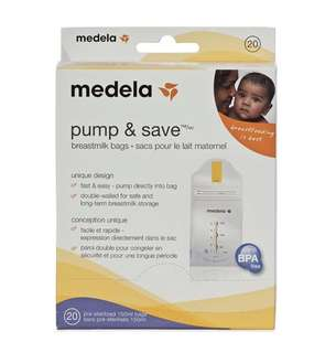 *Brand New* Medela Pump & Save Bags
