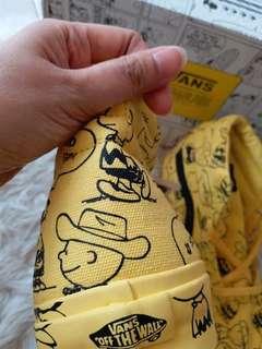 Sepatu Vans X peanuts