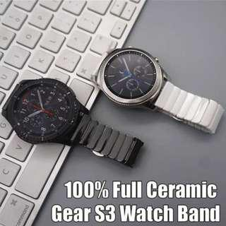 SAMSUNG REPLACEMENT STRAP - 100% FULL CERAMIC WATCH BAND