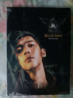 SS501 金賢重Kim Hyun Joong Break Down