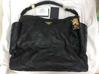 Prada black tote bag (limited edition) 特大容量